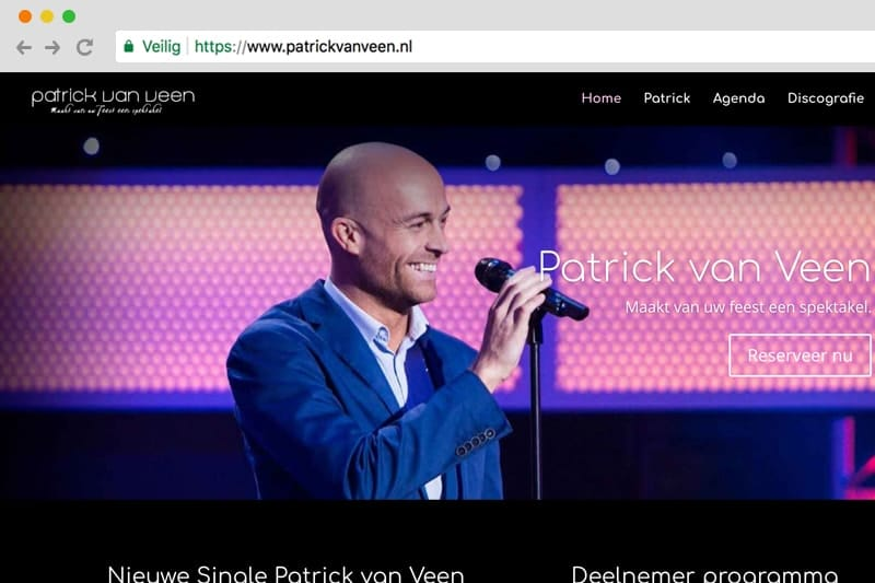 Patrick van Veen zanger