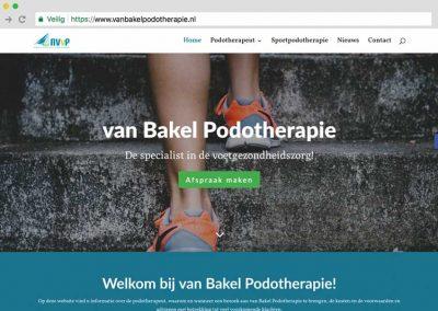 van Bakel Podotherapie