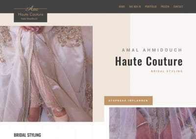 Houte Couture Amal Ahmidouch