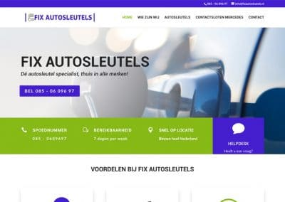 Fix autosleutels