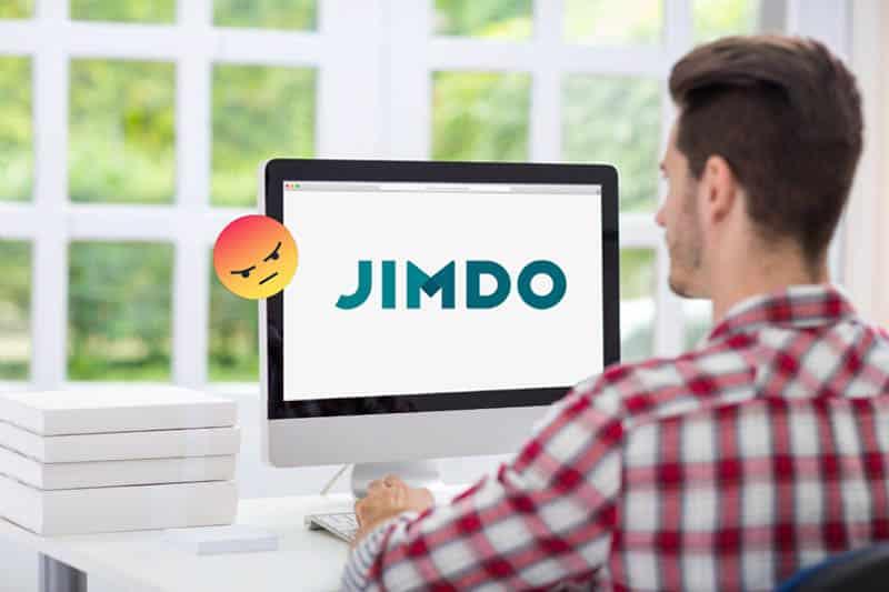 De 8 grootste nadelen van Jimdo